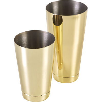 Boston Shaker Inox Complet - Gold - Or