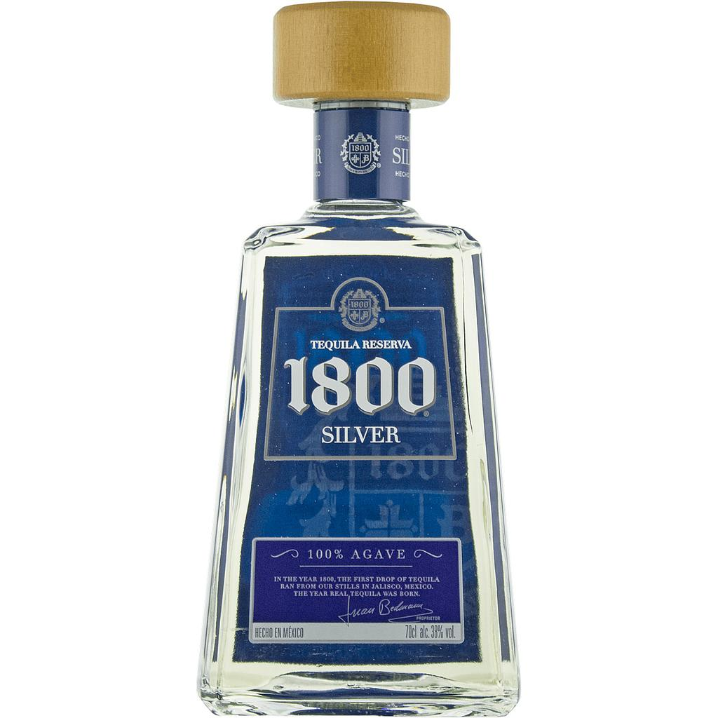 Tequila 1800 Silver 70cl 38%