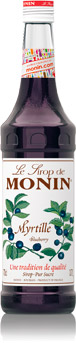 Sirop Myrtille 70cl - MONIN
