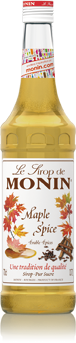 Sirop Erable épices/Maple Spice 70cl - MONIN