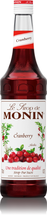 Sirop Airelles/Cranberry 70cl - MONIN
