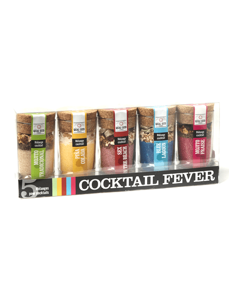 "Coffret ""Cocktails Fever"""