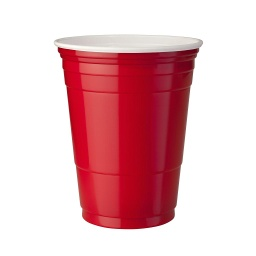 RED CUPS BEER PONG 50cl SOLO x10